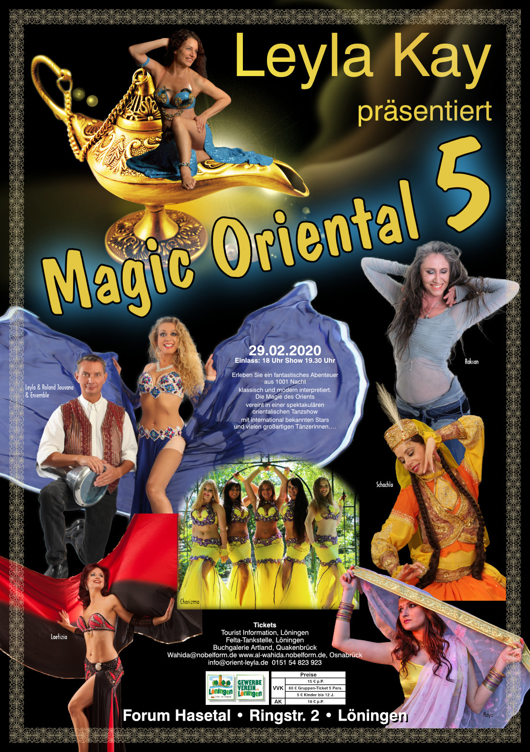 Magic Oriental 5 Leyla Roland